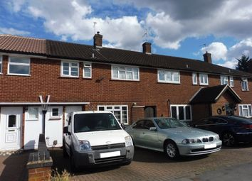 Thumbnail 3 bed terraced house for sale in Crown Road, Borehamwood