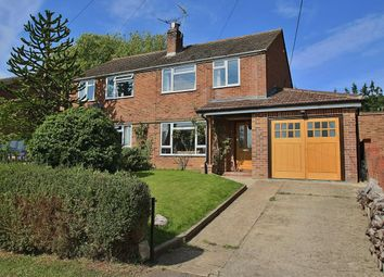 Thumbnail 3 bed semi-detached house for sale in Manor Road, Whitchurch On Thames, Reading