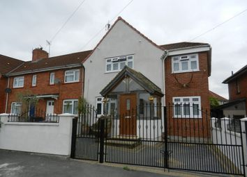Thumbnail 2 bedroom end terrace house for sale in Bideford Crescent, Knowle, Bristol