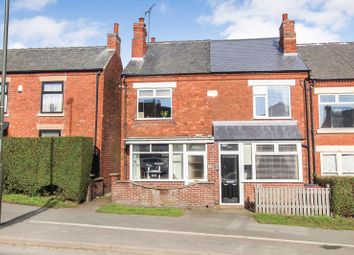 The Common, South Normanton, Alfreton DE55. 2 bed property for sale