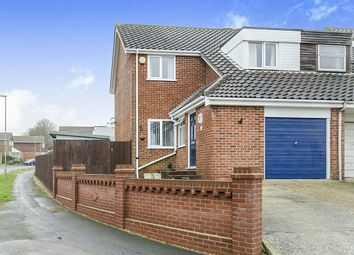 Thumbnail 3 bed semi-detached house for sale in Garstons Close, Titchfield, Fareham