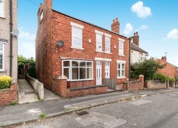 Thumbnail 2 bed semi-detached house to rent in Wood Street, Alfreton, Derbyshire