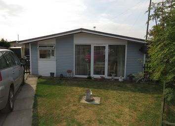 Thumbnail 2 bed detached bungalow for sale in Lakeside, Anderby Creek, Skegness