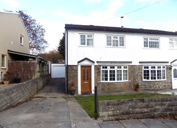 Thumbnail 3 bed semi-detached house for sale in Eleanor Close, Pencoed, Bridgend.