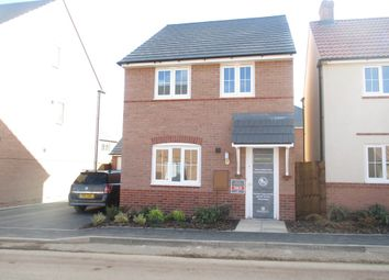 Thumbnail 3 bed detached house to rent in Rowan Road, Glenfield, Leicester