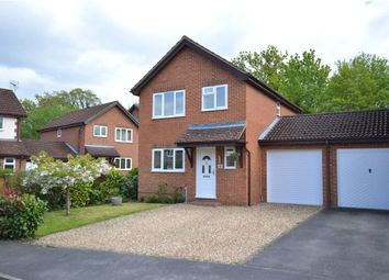 Thumbnail 3 bed link-detached house for sale in Barn Meadow Close, Church Crookham, Fleet