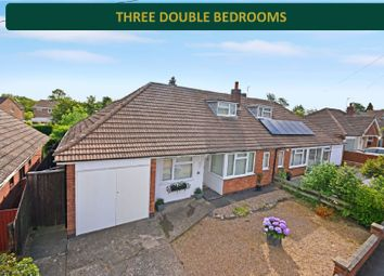 Thumbnail 3 bed bungalow for sale in Prince Drive, Oadby, Leicester