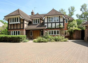 Thumbnail 5 bed detached house to rent in Badgers Hill, Wentworth, Virginia Water