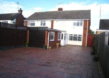 Thumbnail 3 bed semi-detached house for sale in Lentons Lane, Aldermans Green, Coventry