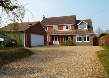 Thumbnail 4 bed detached house for sale in Bintree, Dereham