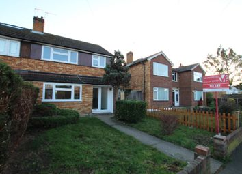 Thumbnail 3 bed semi-detached house to rent in Churchgate, Waltham Cross