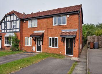 Thumbnail 2 bedroom semi-detached house to rent in Pinders Green Walk, Leeds