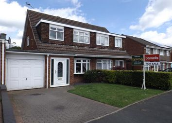 Thumbnail 3 bed semi-detached house for sale in Kewstoke Road, Willenhall, West Midlands