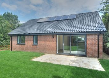 Thumbnail 3 bed detached bungalow for sale in Church Road, Swainsthorpe, Norwich