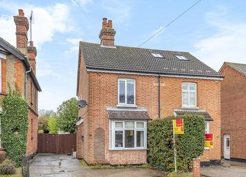 Thumbnail 3 bed semi-detached house for sale in Lightwater, Surrey