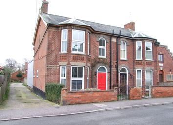 Thumbnail 3 bed semi-detached house for sale in Chapel Road, Saxmundham