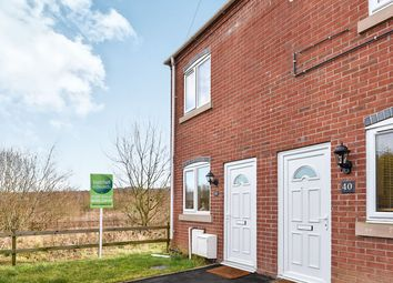 Thumbnail 3 bed town house for sale in Chapel Street, Castle Gresley, Swadlincote