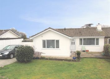 Thumbnail 3 bedroom semi-detached bungalow for sale in Menhyr Drive, Carbis Bay, St Ives, Cornwall.