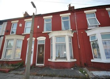Thumbnail 3 bedroom terraced house for sale in Tabley Road, Wavertree, Liverpool