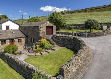 Thumbnail 4 bed barn conversion for sale in The Hayloft, Bents Lane, Wilsden, Bradford