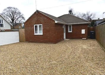 Thumbnail 2 bedroom detached bungalow to rent in Cauldwell Hall Road, Ipswich