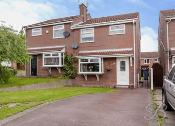 Thumbnail 3 bed semi-detached house for sale in Bentinck Terrace, Warsop, Mansfield