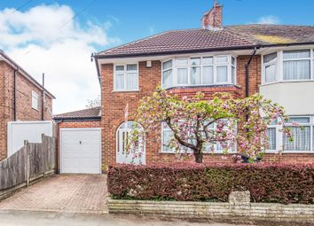 Thumbnail 3 bed semi-detached house for sale in Hillsborough Road, Glen Parva, Leicester