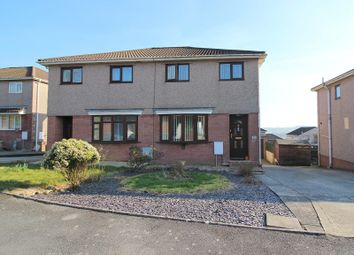 3 bed semi-detached house for sale in The Hollies, Brackla, Bridgend County. CF31