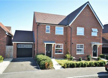 Thumbnail 2 bed semi-detached house for sale in Esingdon Drive, Thame