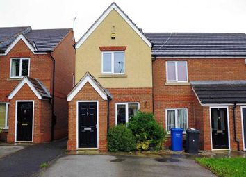 Thumbnail 2 bed town house to rent in Haycroft Gardens, Mastin Moor, Chesterfield