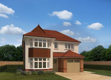 "Thumbnail 3 bedroom detached house for sale in ""Sherbourne Lifestyle"" at Park View, Bassaleg, Newport"