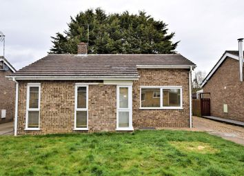 Thumbnail 2 bedroom detached bungalow to rent in Old Vicarage Park, Narborough, King's Lynn