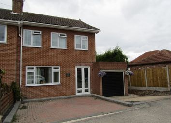 Thumbnail 3 bed semi-detached house for sale in Sidsaph Hill, Walkeringham, Doncaster