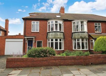 Thumbnail 4 bed semi-detached house for sale in Felton Avenue, Whitley Bay