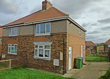 Thumbnail 3 bed semi-detached house to rent in Hall Crescent, Horden, Peterlee