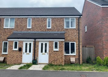 Thumbnail 2 bedroom end terrace house for sale in Gibbonsdown Rise, Barry