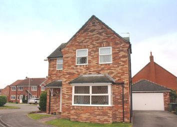 Thumbnail 3 bed detached house for sale in Duncombe Drive, Strensall, York