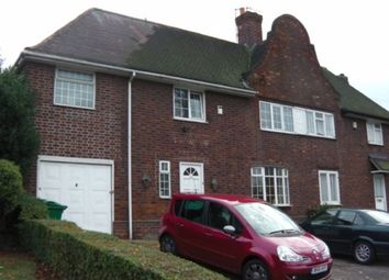 Thumbnail 4 bedroom semi-detached house to rent in Valley Road, Sherwood, Nottingham