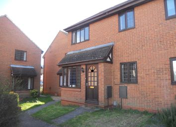 Thumbnail 1 bed semi-detached house to rent in Millwright Way, Flitwick, Bedford