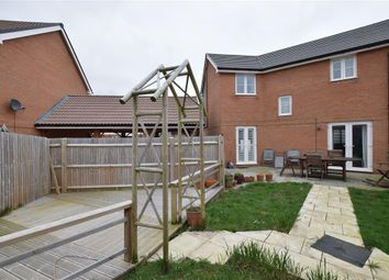 Thumbnail 3 bed semi-detached house for sale in Navigation Drive, Yapton, Arundel, West Sussex