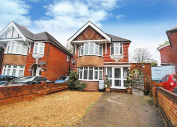 Thumbnail 3 bed detached house for sale in Longmore Crescent, Southampton