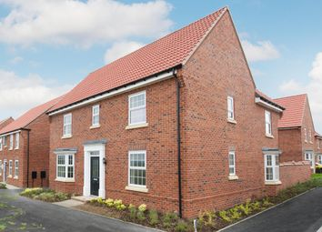 "Thumbnail 4 bed detached house for sale in ""Layton"" at Fen Street, Brooklands, Milton Keynes"
