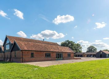 Thumbnail 7 bed barn conversion for sale in Little Green, Burgate, Diss