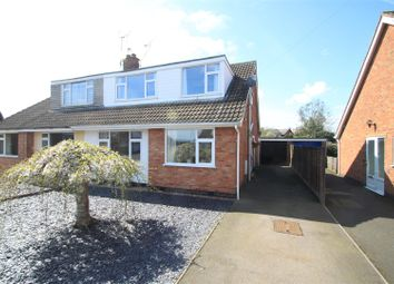 Thumbnail 5 bed semi-detached house for sale in Calver Crescent, Sapcote, Leicester