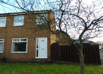 Thumbnail 2 bed semi-detached house for sale in Northleach Drive, Hemlington, Middlesbrough