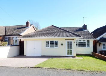Thumbnail 3 bed detached bungalow for sale in Gilwell Road, Cannock Wood