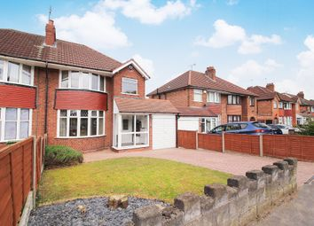 Thumbnail 3 bed semi-detached house for sale in Coniston Avenue, Solihull