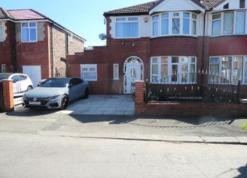 Thumbnail 3 bed semi-detached house for sale in Northleigh Road, Firswood, Manchester.