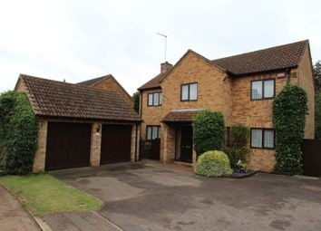 Thumbnail 4 bed detached house to rent in Wootton Hill Farm, Northampton