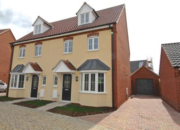 Thumbnail 4 bed semi-detached house to rent in Hendry Gardens, Wymondham